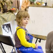 Ученики в студии