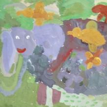 Картины и рисунки учеников студии