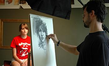 Художественный курс 'Рисование портрета'