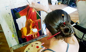Художественный курс 'Основы живописи маслом'