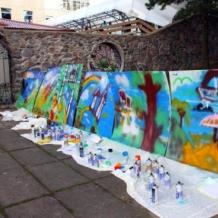 Мастер-класс граффити 1