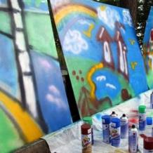 Мастер-класс граффити 15