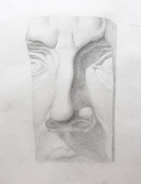 Как нарисовать давида поэтапно