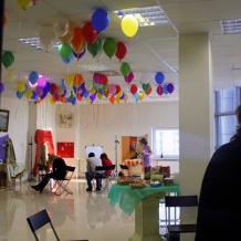 В студии школы 33