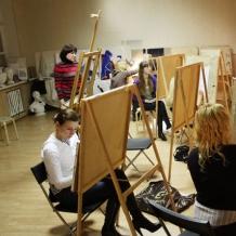 В студии школы 43
