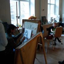 В студии школы 48