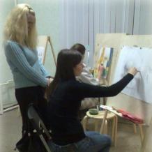 В студии школы 53