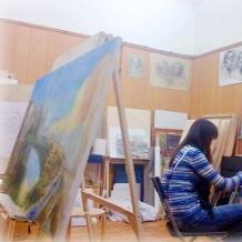 В студии школы 58