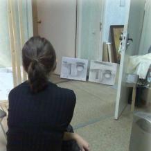 В студии школы 68