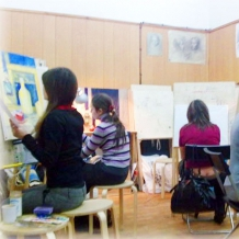 В студии школы 82