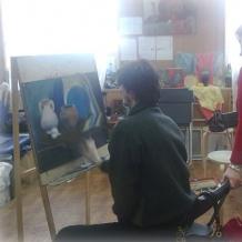 В студии школы 128