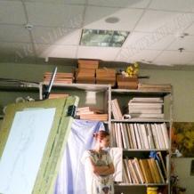 В студии школы 135