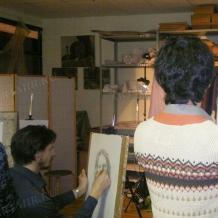 В студии школы 194