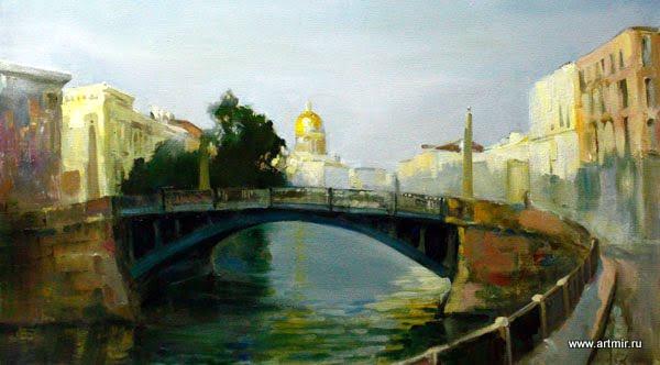 Пейзаж художника Ярошенко Евсея